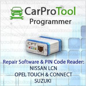 CARPROTOOL - NISSAN LCN EU / OPEL TOUCH & CONNECT / SUZUKI - DECODER SOFTWARE